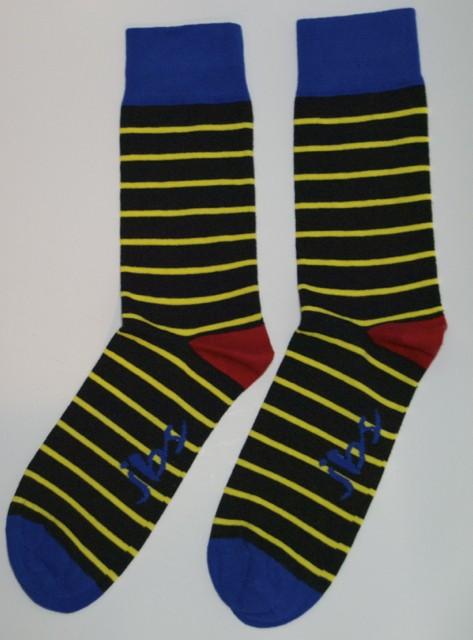 Yellow Striped Socks