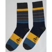 yellow-green-black-striped-socks